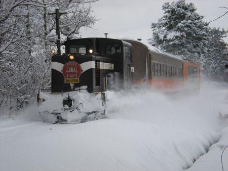 ストーブ列車外観