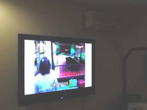 ホテルリーズの大き〜いテレビ