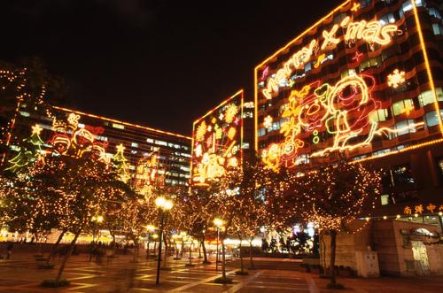 香港クリスマス1