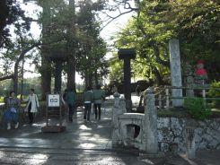 中尊寺入口