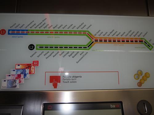 ビルバオ路線図