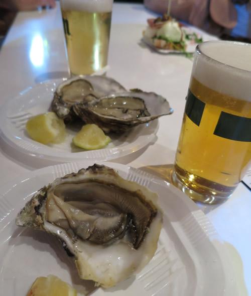 サンミゲル牡蠣