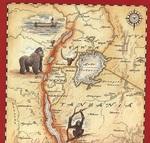 東アフリカ地図
