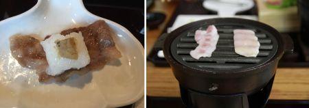 焼肉と寿司