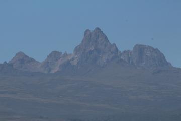 ナニュキから見たケニア山