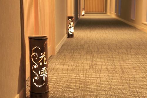 竹あかり廊下