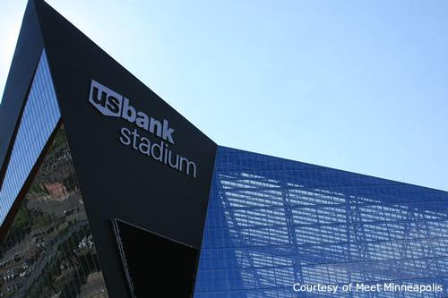 晴れているときの素敵なスタジアム
