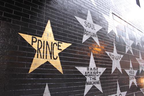 プリンスやニルヴァーナの名前の星