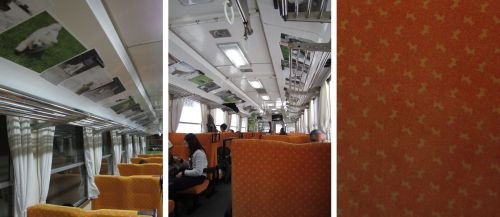 犬っこ列車 車内-4