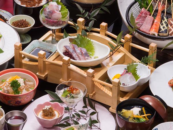 三泉閣料理