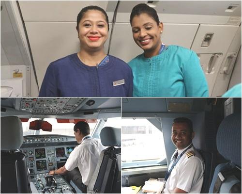 スリランカ航空クルー