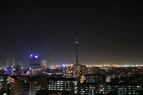 コロンボの夜景