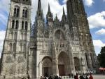 モネが連作を描いた、ルーアン大聖堂