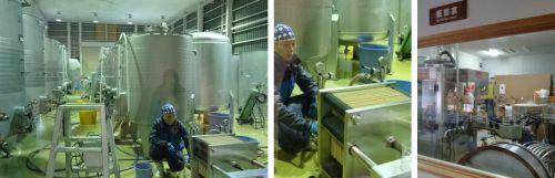 紫波ワイナリー工場