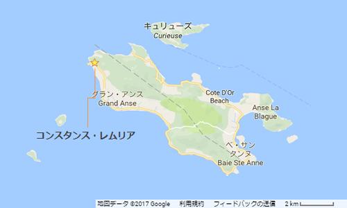 プララン島地図