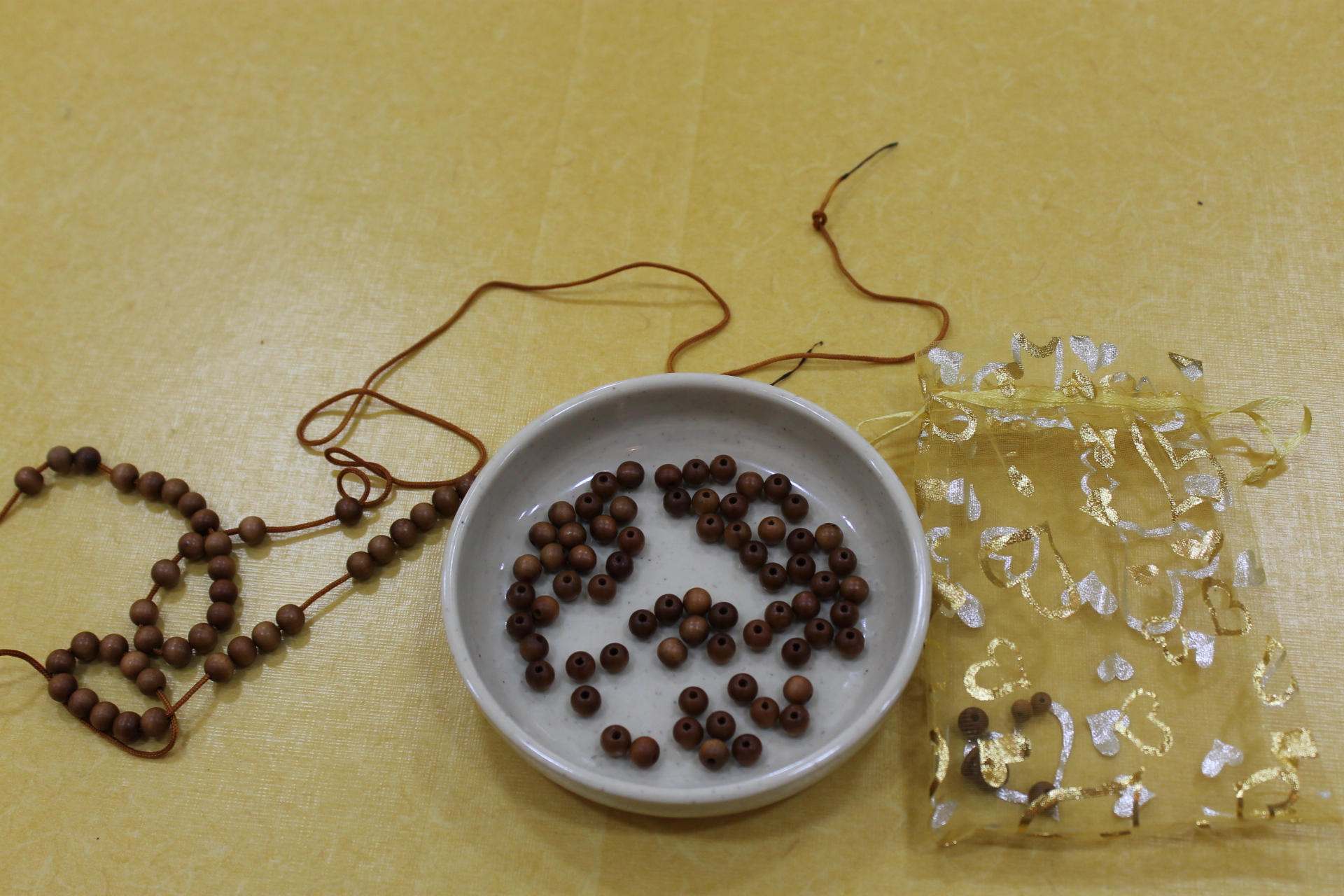 数珠作り工程2