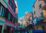 チンクエ・テッレの街並み