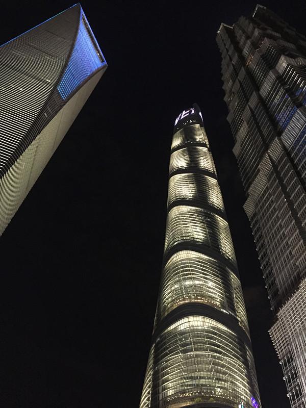 上海の超高層ビル
