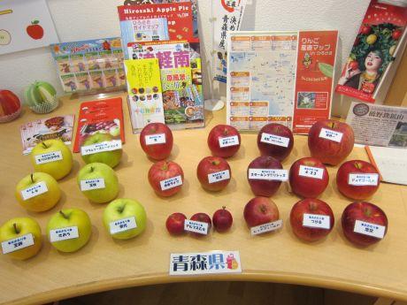 りんご展示青森