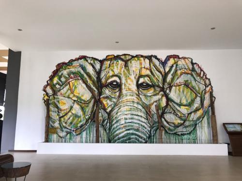 象さん壁画