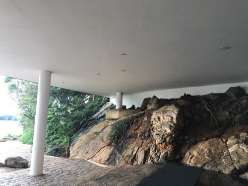 カンダラマ岩入口