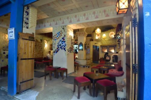 チュニスのメディナのカフェ