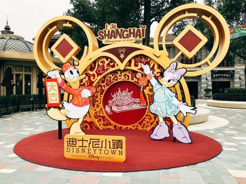 旧正月の上海ディズニー(1)