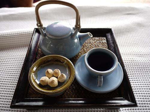 シロラムスパ お茶?
