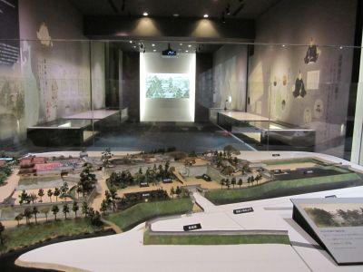 盛岡城復元模型