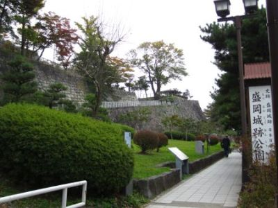 盛岡城跡公園入口