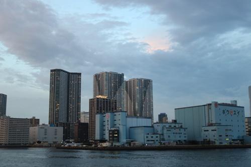 東京湾夕暮れ1