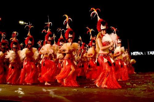 Heiva i Tahiti ダンスコン