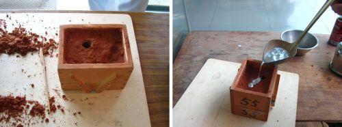 鉄の鋳造体験3