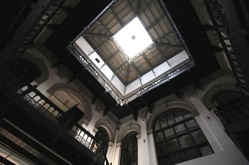 旧総督府内部