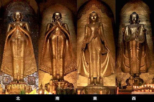 アーナンダ-寺院立像