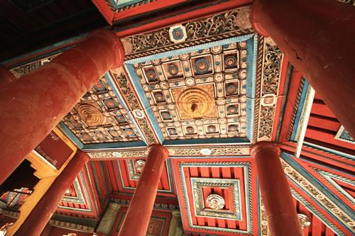 シュエズィーゴン・パゴダ天井彫刻