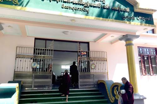 マハーガンダーヨン僧院 食堂