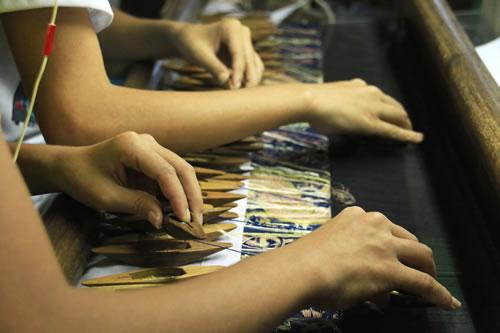 織物工房 手技