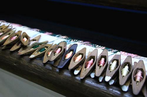 織物工房 糸
