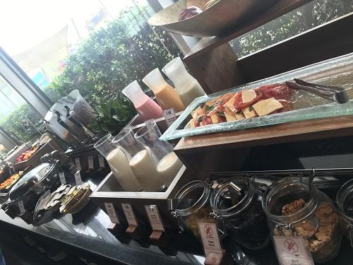 リマ空港ホテル朝食