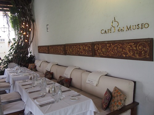 ラルコ博物館レストラン