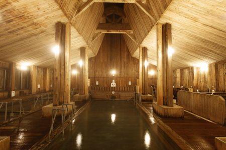 玉川温泉浴室