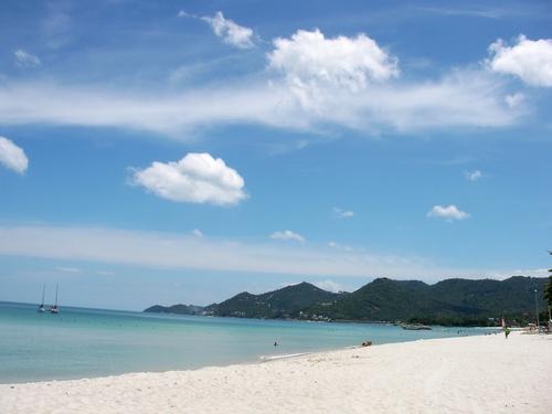 チャウエンビーチ南側のビーチ