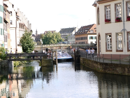 ストラスブール 運河の町