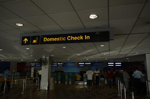Domestic Check in
