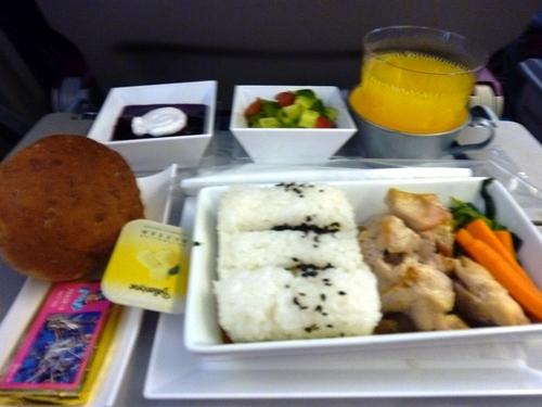 トルコ航空機内食