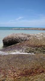 チャウエンビーチ南端