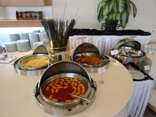 トルコでのホテルの朝食
