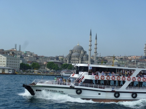 イスタンブール ボスポラス海峡