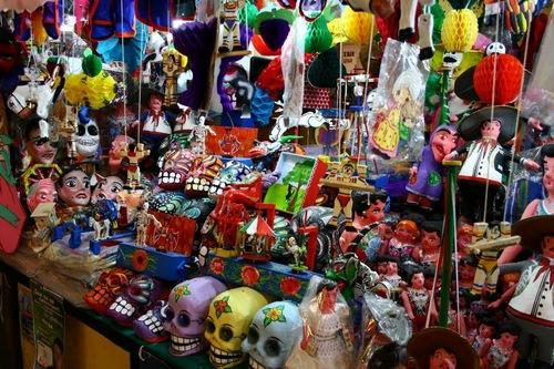 メキシコ死者の日のオフレンダ